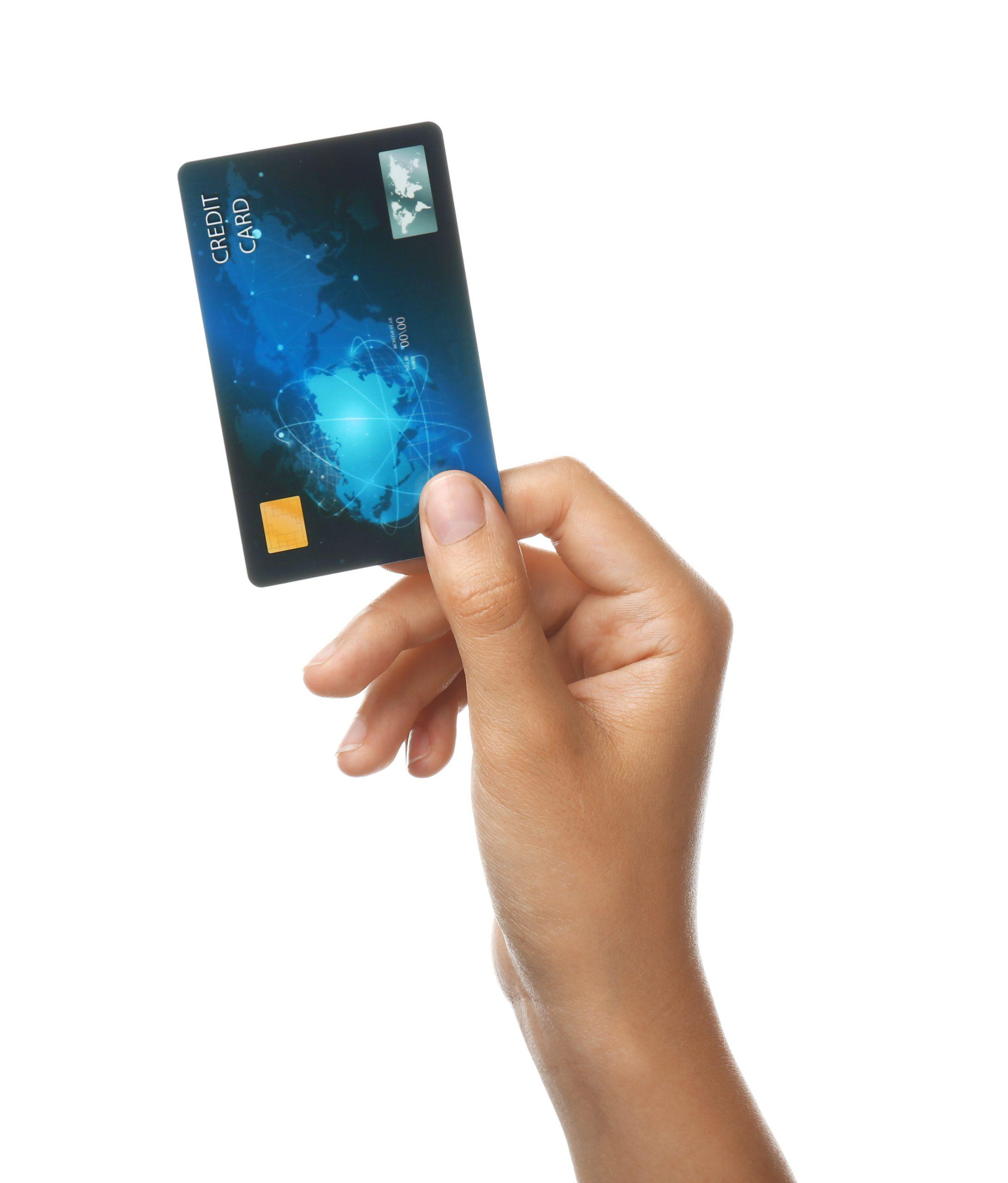 ホテルブッキングイメージ - クレジットカード